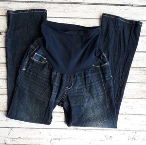 INDIGO BLUE Dark Wash Secret Fit Jeans PL